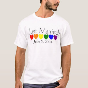 069ab0b66d0 Just Married T-Shirts - T-Shirt Design & Printing | Zazzle