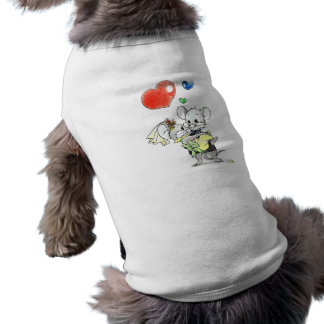 just married doggie shirt