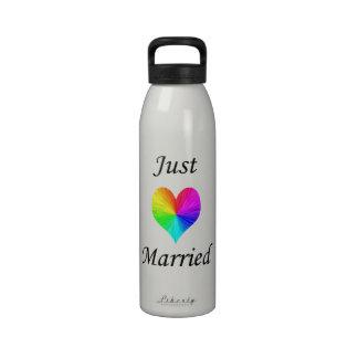 Just Married Drinking Bottle