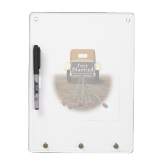Just Married Dry-Erase Board
