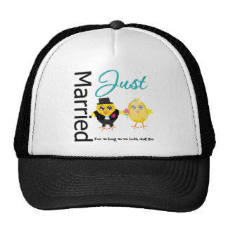 Just Married For As Long As We Both Shall Live Trucker Hat