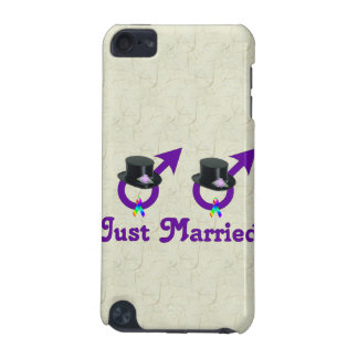 Just Married Formal Gay Male iPod Touch (5th Generation) Cases