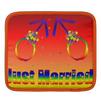 Just Married Gay Men Sleeves For iPads
