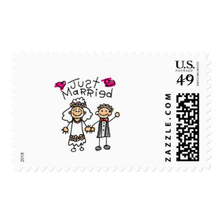 Just Married Gifts Newlywed Gifts Honeymoon Gifts Postage Stamp