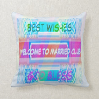 Just Married Gifts Pillows