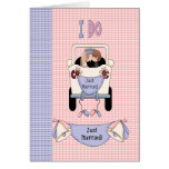 Just Married Greeting Cards