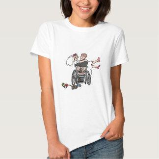 Just Married (Groom Wheelchair) T-shirt
