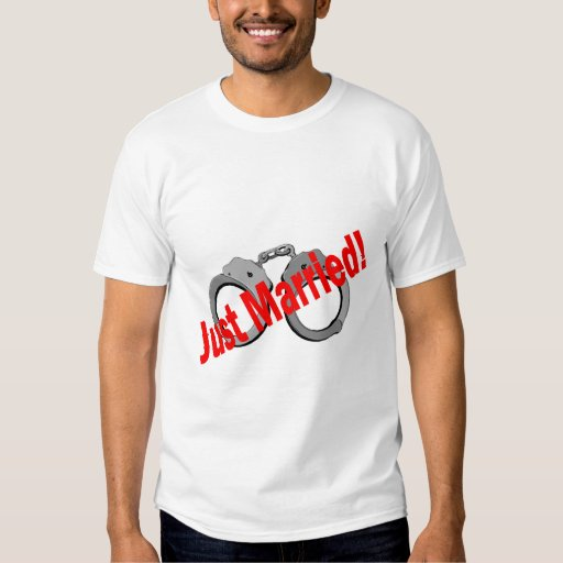 Just Married (Handcuffs) Shirts