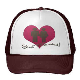 Just Married! Trucker Hats