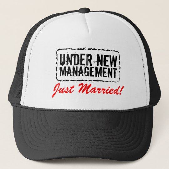 Just Married Hats Under New Management