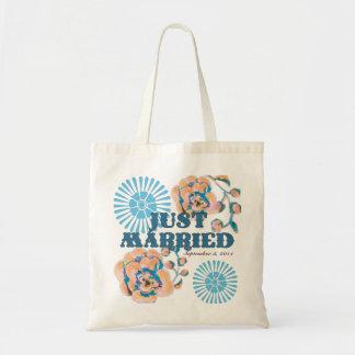 Just Married Honeymoon Tote Bag