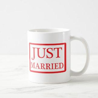 just married icon coffee mug