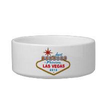 Just Married In Fabulous Las Vegas 2012 Vegas Sign Bowl