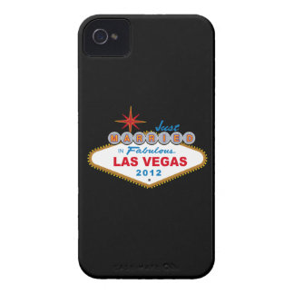 Just Married In Fabulous Las Vegas 2012 Vegas Sign Case-Mate iPhone 4 Case