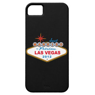 Just Married In Fabulous Las Vegas 2012 Vegas Sign iPhone SE/5/5s Case