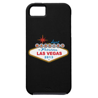 Just Married In Fabulous Las Vegas 2013 (Sign) iPhone SE/5/5s Case