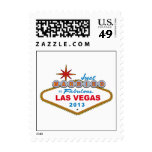 Just Married In Fabulous Las Vegas 2013 (Sign) Stamps