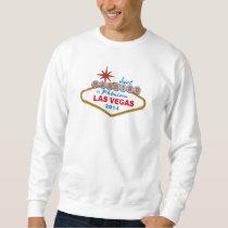 Just Married In Fabulous Las Vegas 2014 (Sign) Sweatshirt