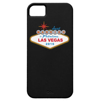 Just Married In Fabulous Las Vegas 2016 (Sign) iPhone SE/5/5s Case