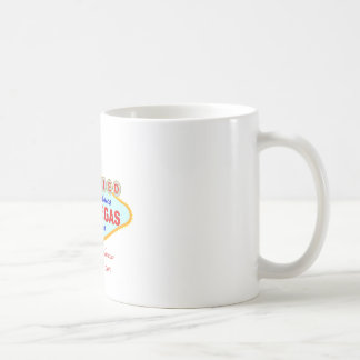 Just Married in Las Vegas Coffee Mug