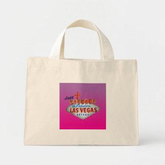 Just Married in Las Vegas Tote Bag