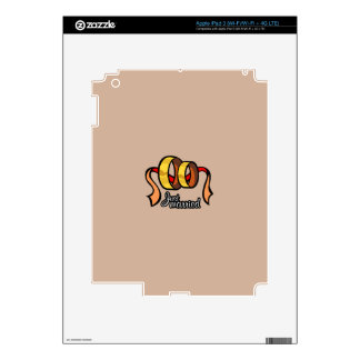 Just Married iPad 3 Skins