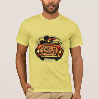 Just Married Jalopy T-Shirt