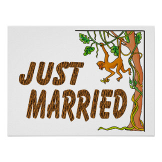 Just Married Jungle Fever Poster