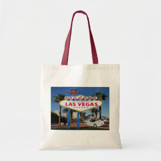 JUST MARRIED Keepsake Las Vegas Tote Bag