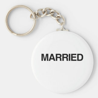 (Just) MARRIED Key Chain