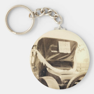 """""""Just Married"""" Keychain"""