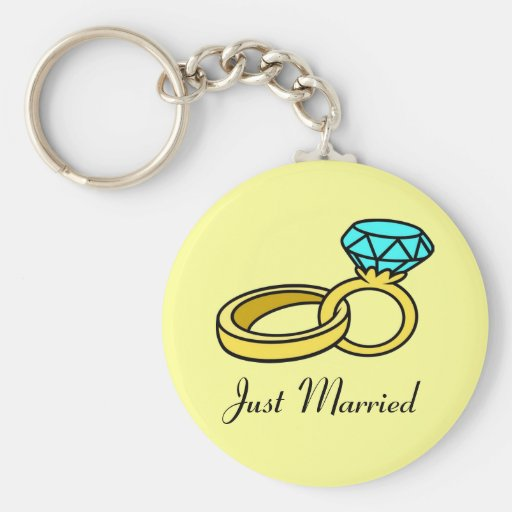 Just Married Keychains