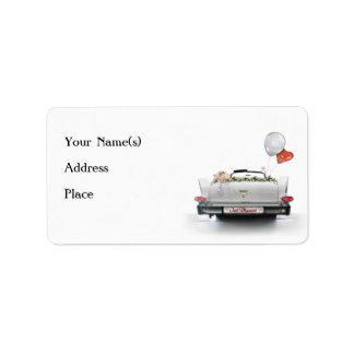 Just Married Custom Address Labels