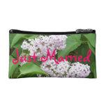 Just Married Lilac Bag Makeup Bag