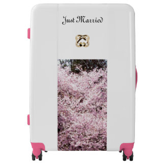 """""""Just Married"""" Luggage"""
