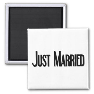Just Married Magnet