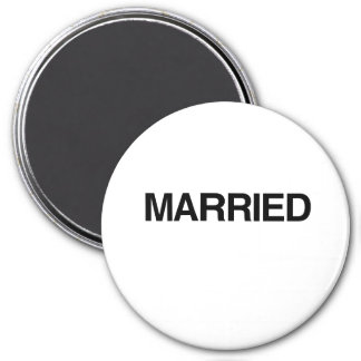 (Just) MARRIED Magnet
