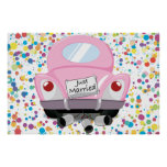 just+married,married+car,cartoon+marriage+car,marr posters