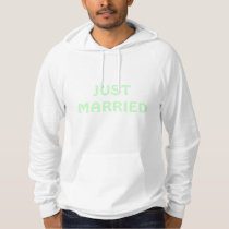 Just Married Mens Hoodie