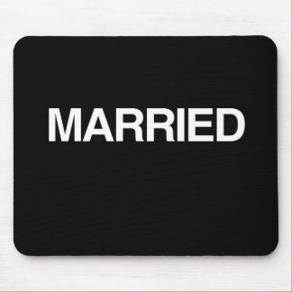 (Just) MARRIED Mousepad