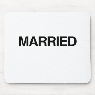 (Just) MARRIED Mousepads