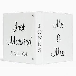 Just Married Mr. & Mrs. Binder