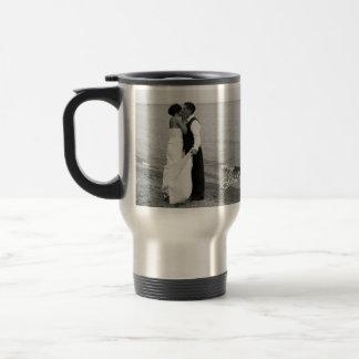 """Just Married"" Muggshotz Personalized Wedding Mug"