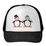 Just Married Pengos Trucker Hat