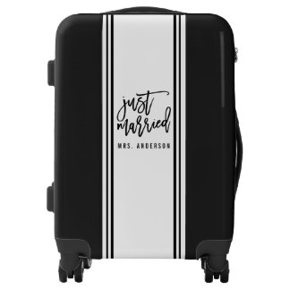 Just Married Personalized Luggage