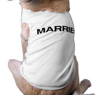 (Just) MARRIED Pet Shirt