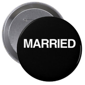 (Just) MARRIED Pinback Button
