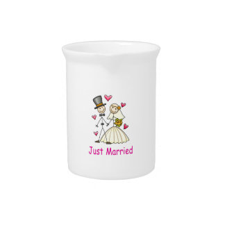 Just Married Drink Pitcher