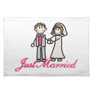 Just Married Placemat