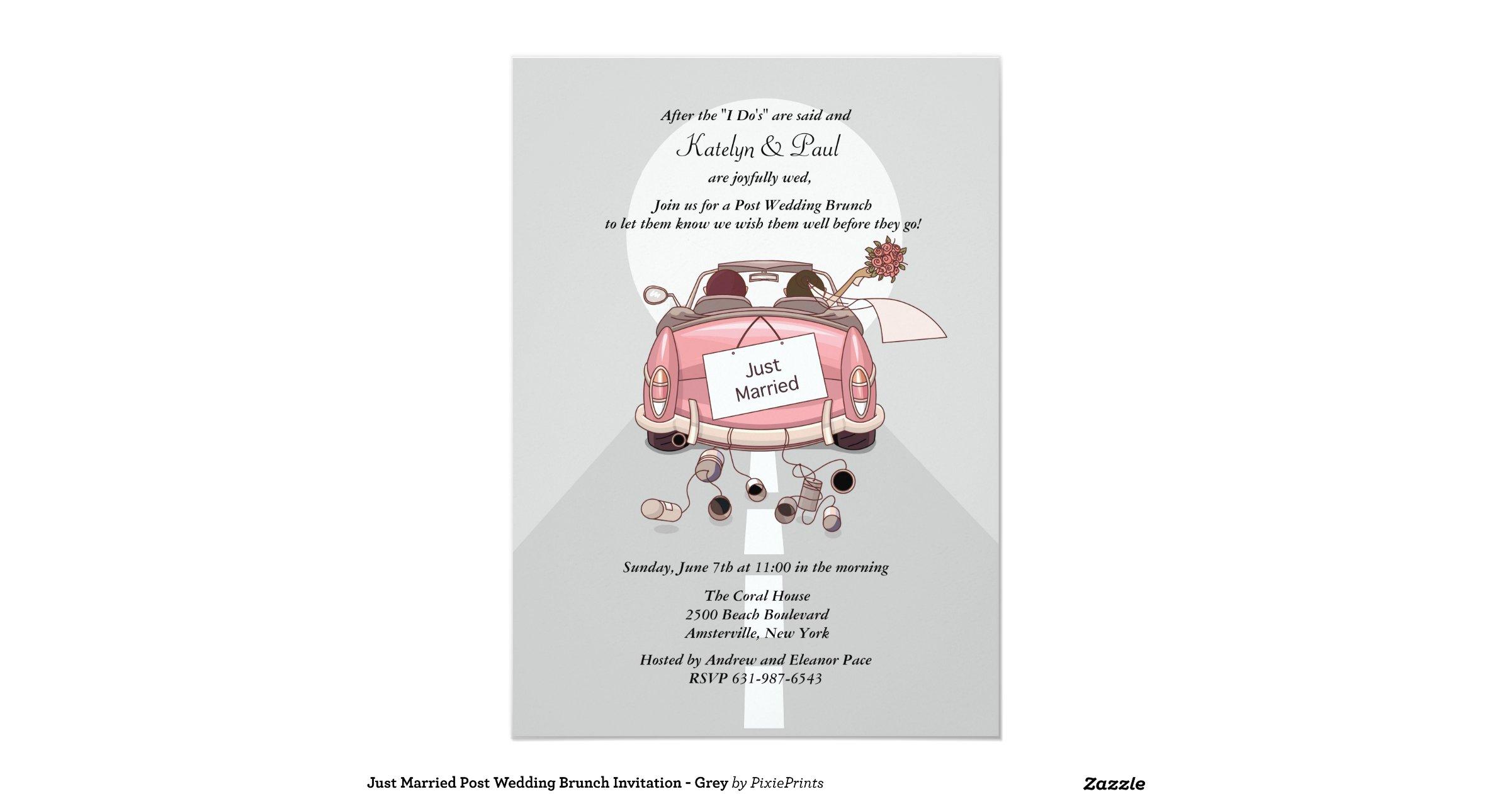 Just Married Post Wedding Brunch Invitation Grey R7b5ed839c4f34512b9affed5210f8802 Zkrqs 1200